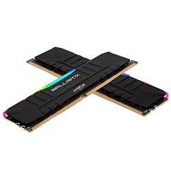 image produit Ballistix BL2K8G30C15U4BL RGB (2x8Go DDR4 3000 PC24000) Cybertek