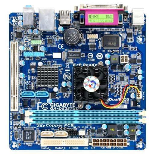 Gigabyte D525TUD (D525T-UD) - Achat / Vente Carte Mère sur Cybertek.fr - 0