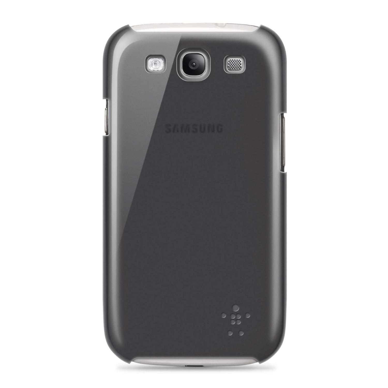 Belkin Coque protection pour Galaxy S3 Noir (F8M403CWC00) - Achat / Vente Accessoire Téléphonie sur Cybertek.fr - 0