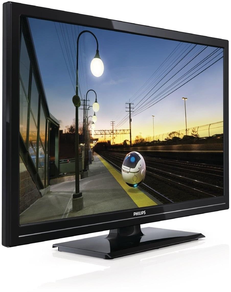 "Philips 24HFL2808D - 24"" (61cm) LED HDTV Mode Hotel - TV Philips - 0"