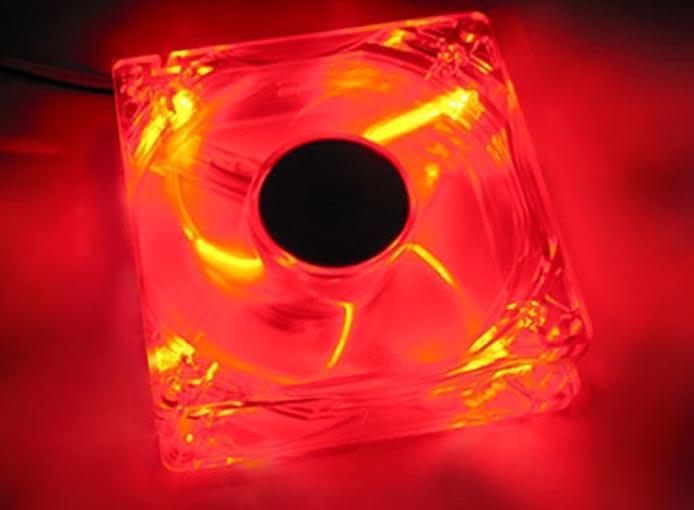 Revoltec Ventilateur boîtier 8cm Dark Red RL022 (RL022 soldé) - Achat / Vente Accessoire boîtier sur Cybertek.fr - 0