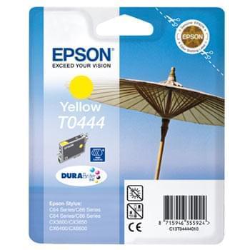 Cartouche d'encre T0444 Jaune HC 420p pour imprimante Jet d'encre Epson - 0