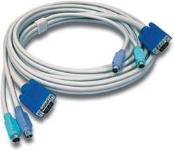 TrendNet Câble KVM TKC10 PS2 Mâle-Mâle 3m (TKC10) - Achat / Vente Connectique PC sur Cybertek.fr - 0