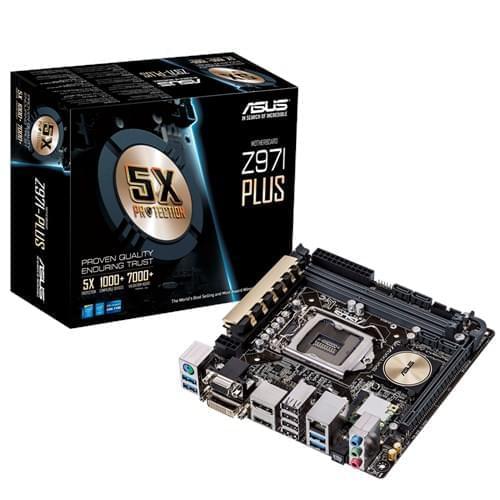 Asus Z97I-PLUS (Z97I-PLUS) - Achat / Vente Carte Mère sur Cybertek.fr - 0