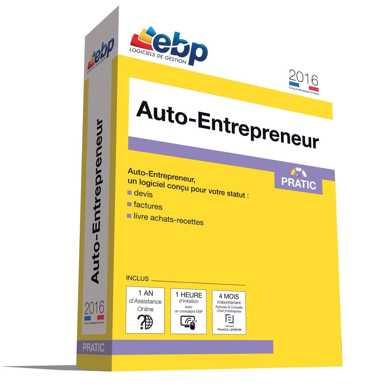EBP Auto-Entrepreneur Pratic 2016 + VIP (1008E081FAA) - Achat / Vente Logiciel application sur Cybertek.fr - 0