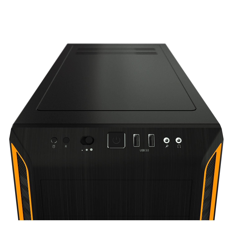 Be Quiet! Pure Base 600 Orange Window BGW20 Orange - Boîtier PC - 1
