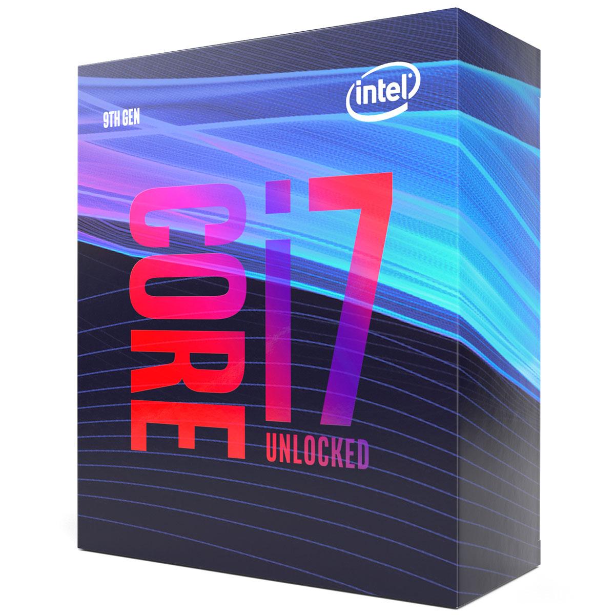 Intel Core i7-9700K - 3.6GHz - Processeur Intel - Cybertek.fr - 1