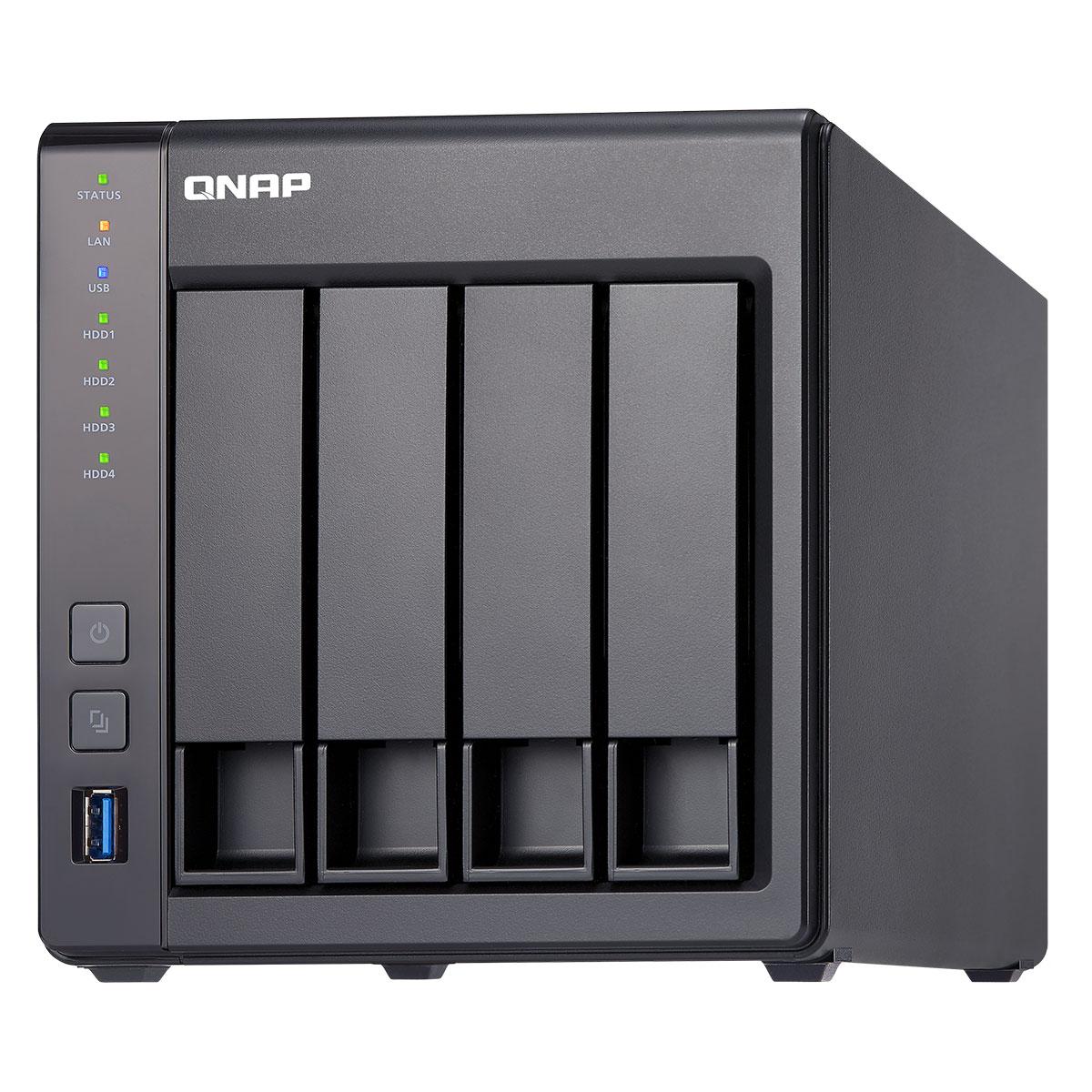 Qnap TS-431X-2G - 4 HDD - Serveur NAS Qnap - Cybertek.fr - 3
