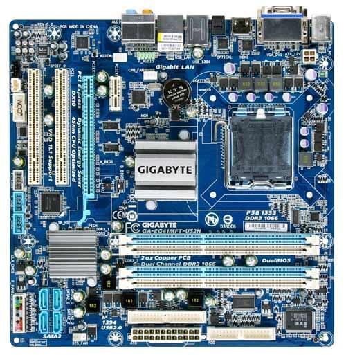 Gigabyte EG41MFT-US2H (EG41MFT-US2H) - Achat / Vente Carte mère sur Cybertek.fr - 0