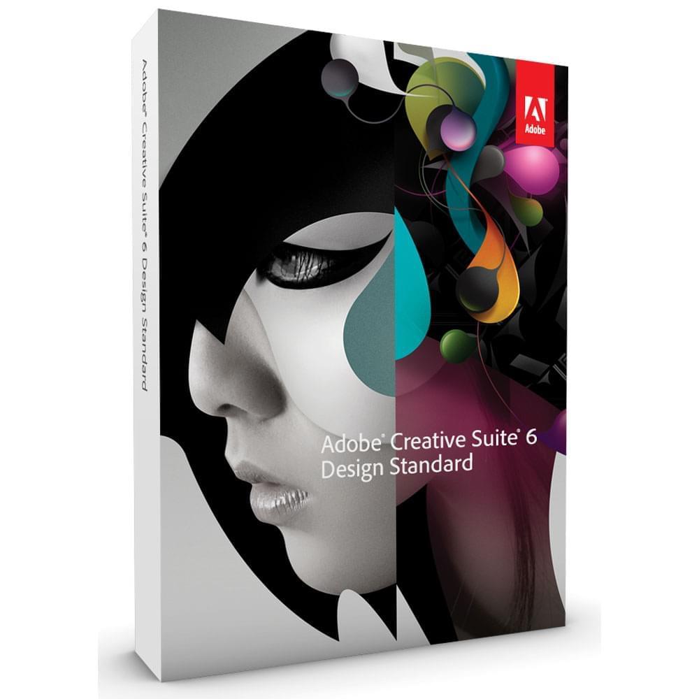 Adobe Creative Suite 6 Design Standard /Windows (Lic.) (65163310AD01A00) - Achat / Vente Logiciel Application sur Cybertek.fr - 0