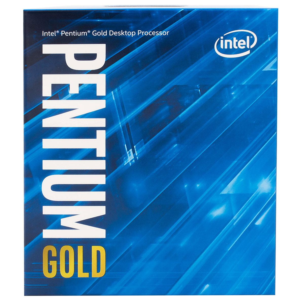 Intel Pentium G5600 - 3.9GHz - Processeur Intel - Cybertek.fr - 3