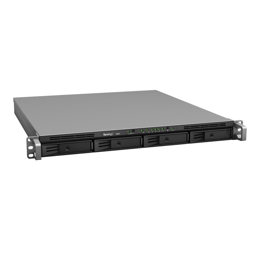 Synology RS814 (RS814) - Achat / Vente Serveur NAS sur Cybertek.fr - 0