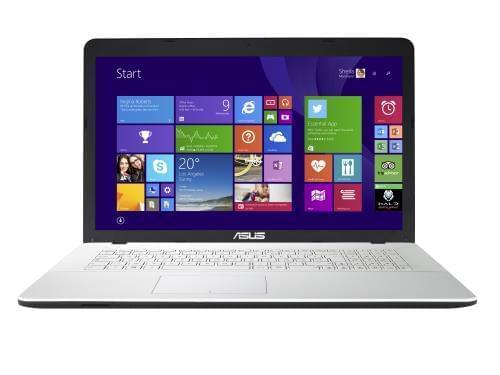 Asus X751LJ-TY263T Blanc (90NB08D2-M04010) - Achat / Vente PC Portable sur Cybertek.fr - 0