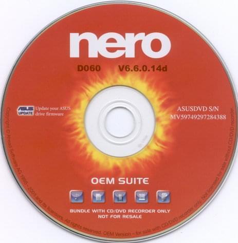 Nero Nero Burning Rom OEM - Achat / Vente Logiciel Application sur Cybertek.fr - 0