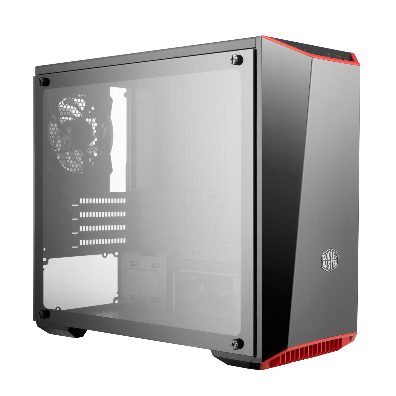 Cooler Master MasterBox Lite 3.1 TG MCW-L3S3-KGNN-00 -mT/Ss Alim Noir - Boîtier PC - 0