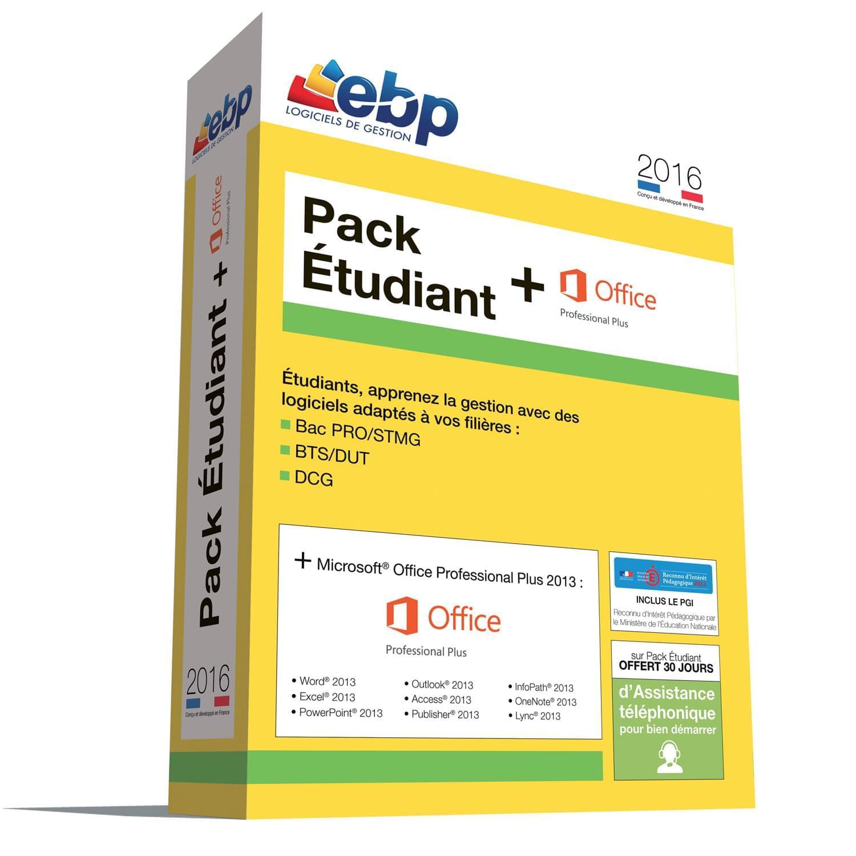 EBP Pack Etudiant 2016 (1119R070FAA) - Achat / Vente Logiciel Application sur Cybertek.fr - 0