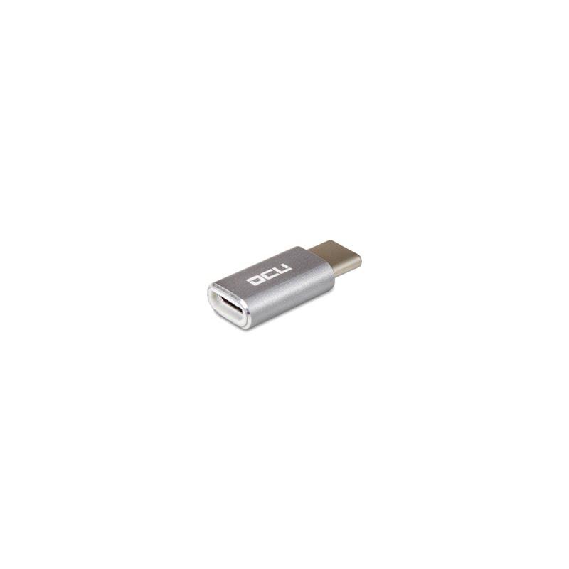 Adaptateur Micro USB A vers USB Type C - Connectique PC - 0