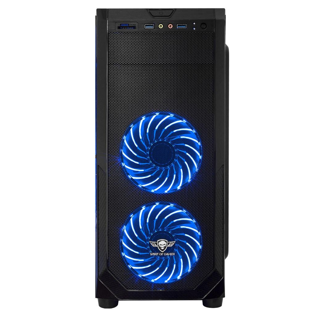 Spirit Of Gamer ROGUE I BLUE Noir - Boîtier PC Spirit Of Gamer - 4
