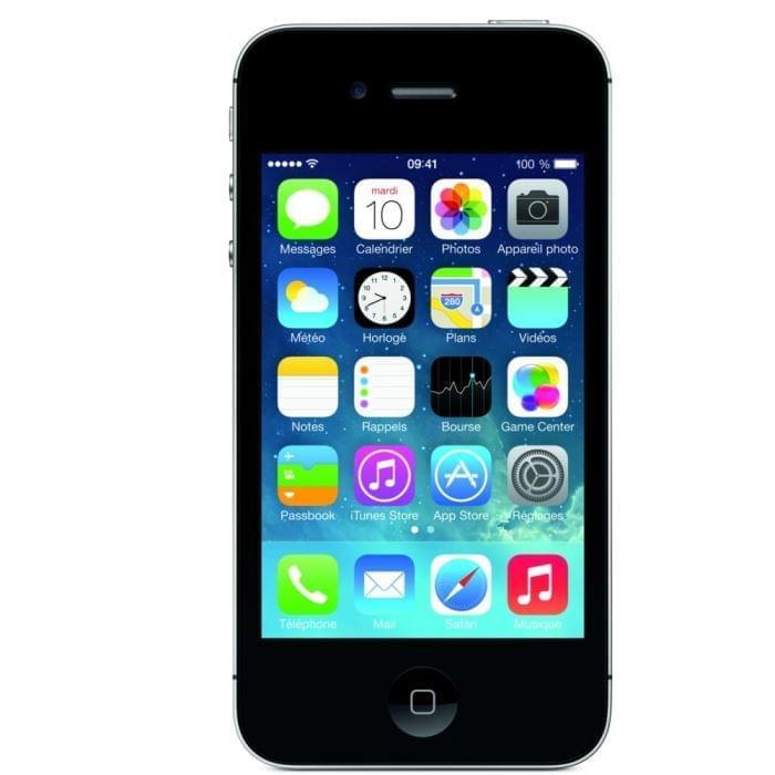 Apple iPhone 4S 8Go Black - Téléphonie Apple - Cybertek.fr - 0