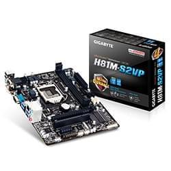 Gigabyte Carte Mère H81M-S2VP - H81/LGA1150/DDR3/PCI-E/mATX Cybertek