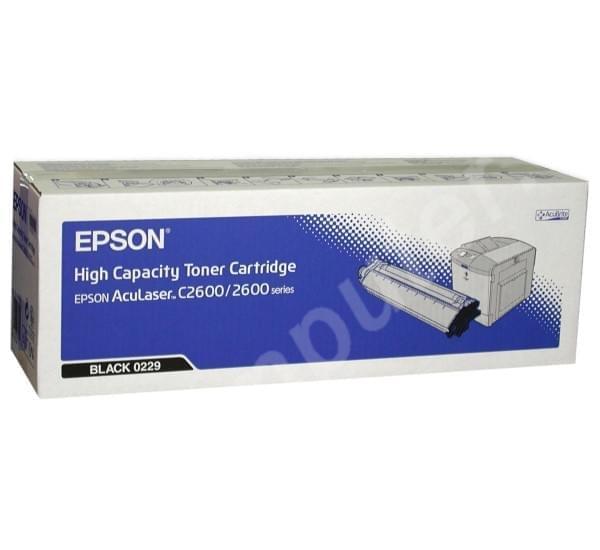 Epson Toner Haute Capacité Noir pour AcuLaser C2600 (C13S050229) - Achat / Vente Consommable Imprimante sur Cybertek.fr - 0