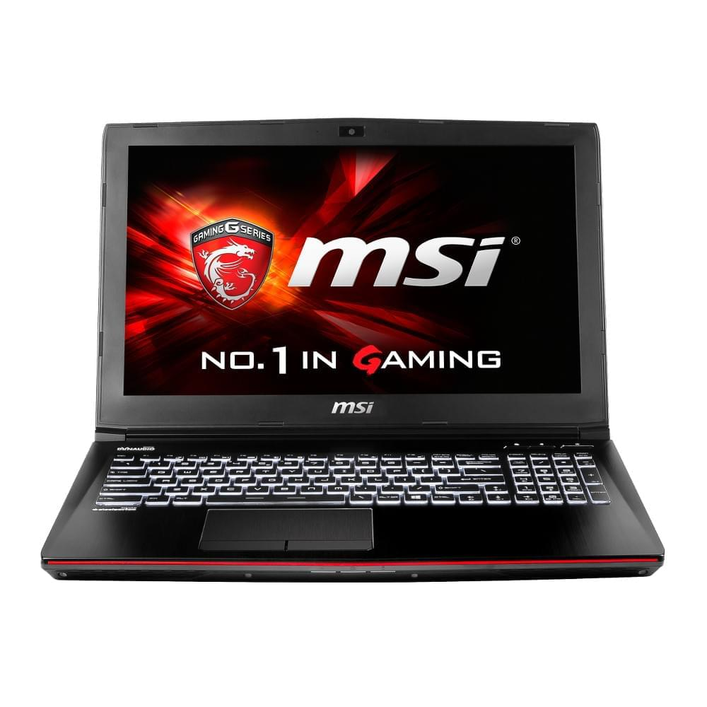 MSI GE62 2QC-646XFR - PC portable MSI - Cybertek.fr - 0