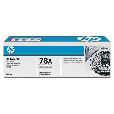 Toner Noir 78A 2100p - CE278A pour imprimante Laser HP - 0