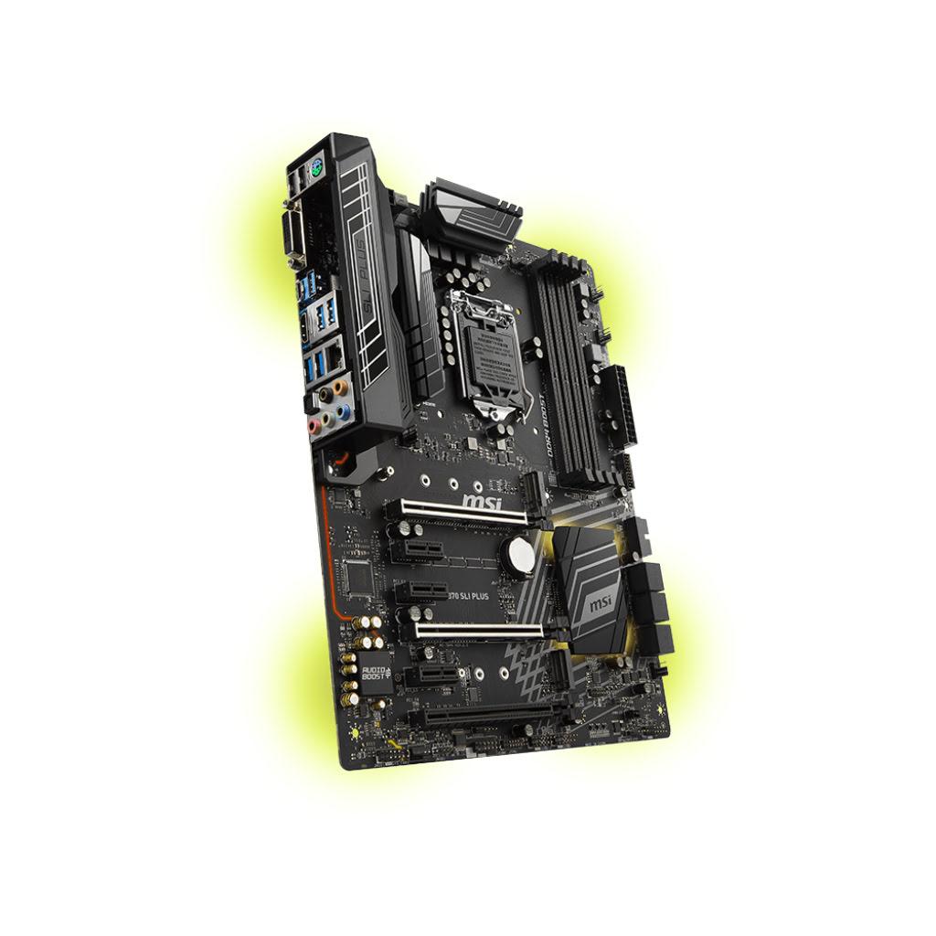 MSI Z370 SLI PLUS ATX DDR4 - Carte mère MSI - Cybertek.fr - 3
