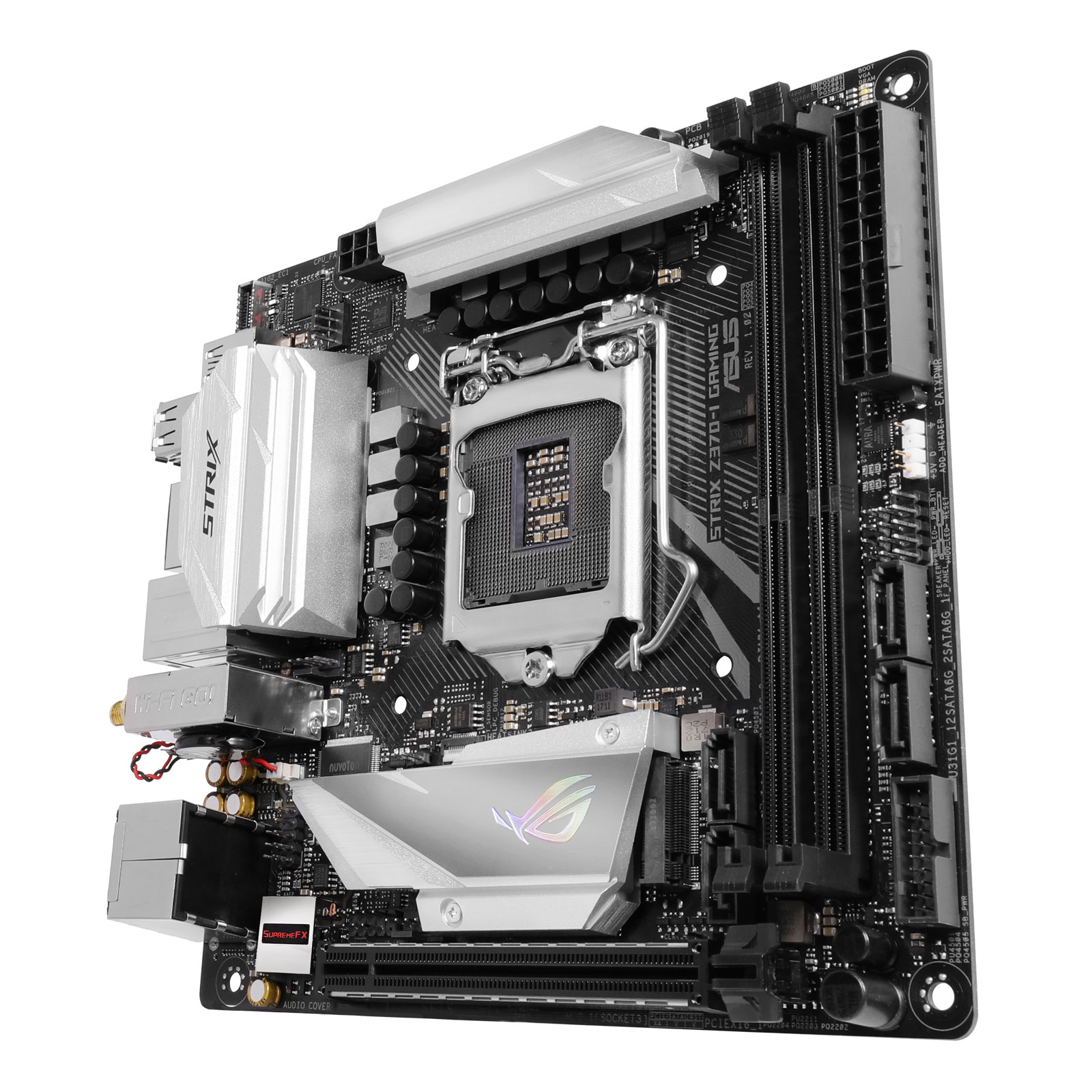 Asus STRIX Z370-I GAMING Mini-ITX DDR4 - Carte mère Asus - 2