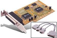 PCI 2 ports series + 1 // - Carte contrôleur générique - 0