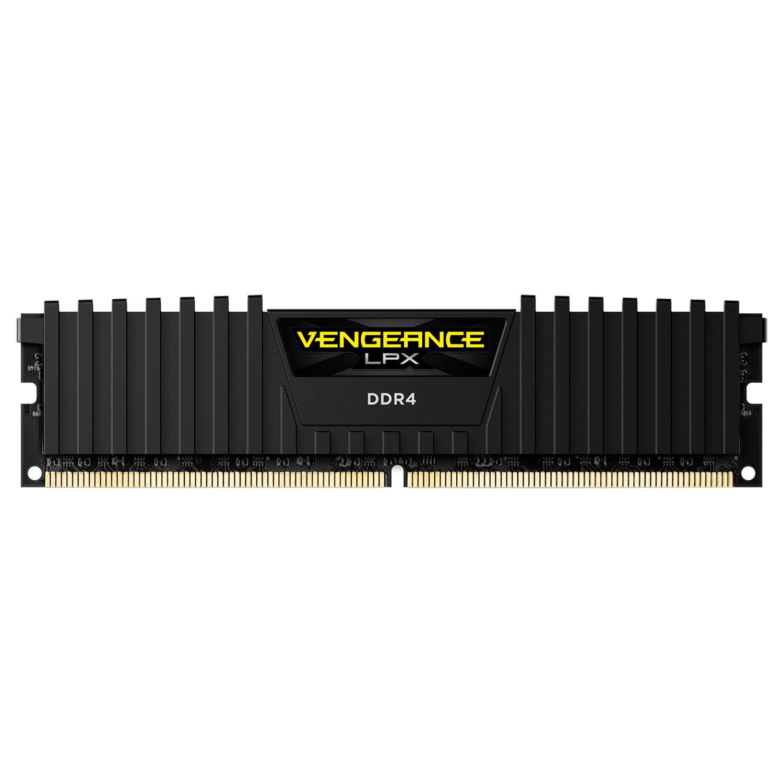 Corsair CMK8GX4M2A2400C14  8Go DDR4 2400MHz - Mémoire PC Corsair - 3