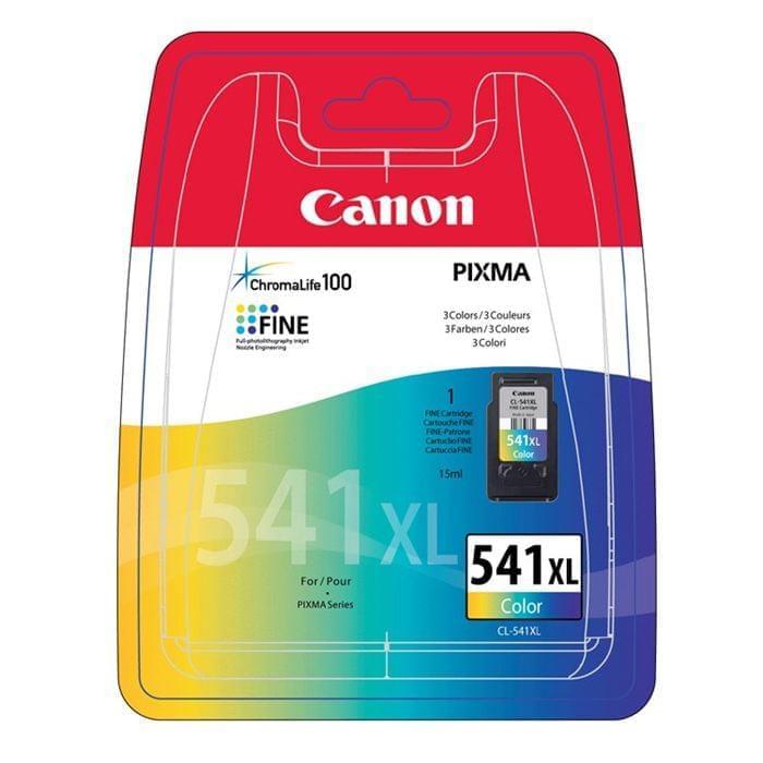 Canon Cartouche CL-541XL Couleur (5226B004 / 5226B005) - Achat / Vente Consommable Imprimante sur Cybertek.fr - 0