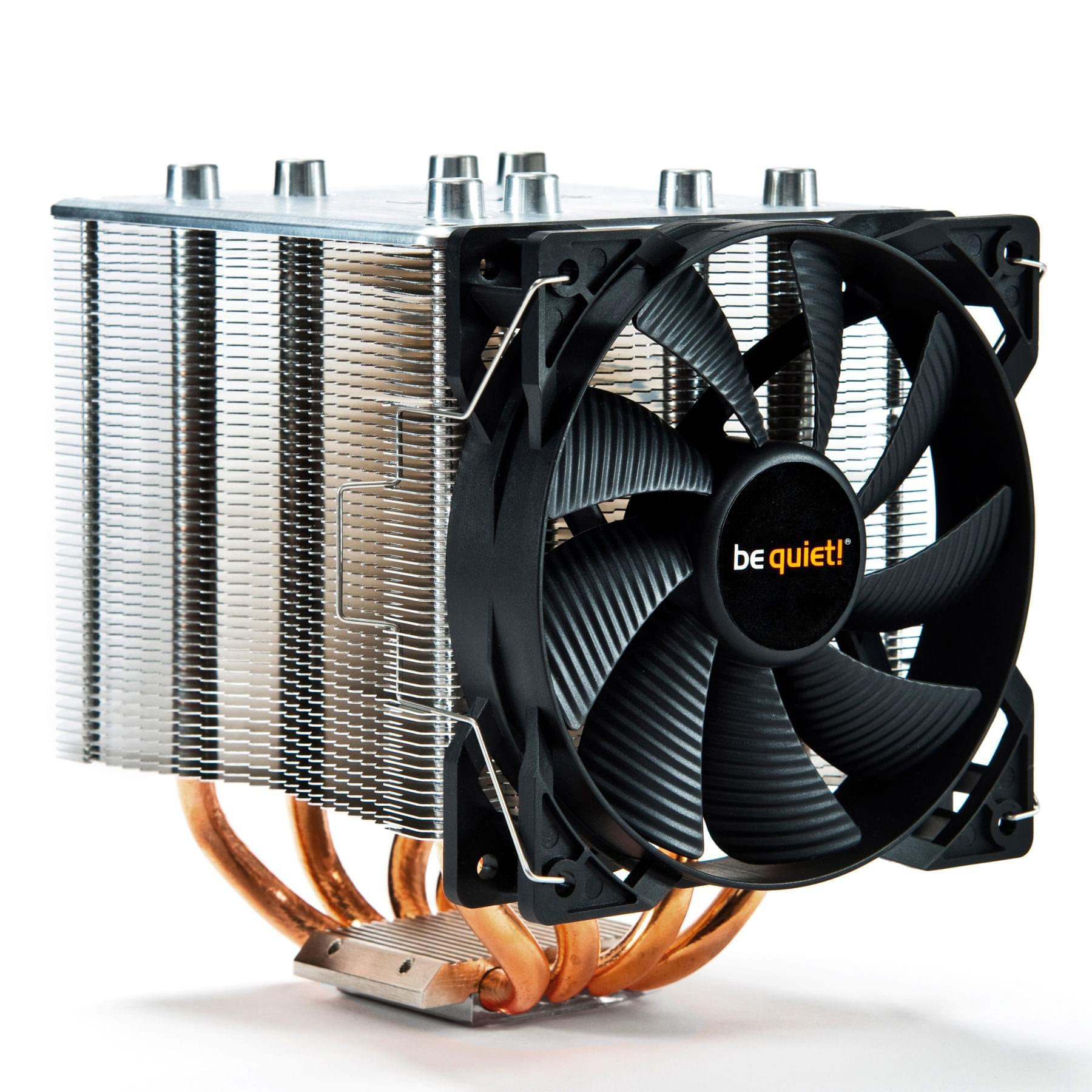 Be Quiet! Shadow Rock 2 (BK013) - Achat / Vente Ventilateur CPU sur Cybertek.fr - 0