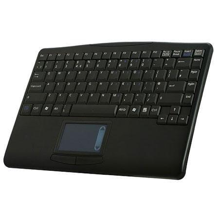 Clavier PC Perixx Periboard 701 Plus - mini clav.wireless + touchpad - 0
