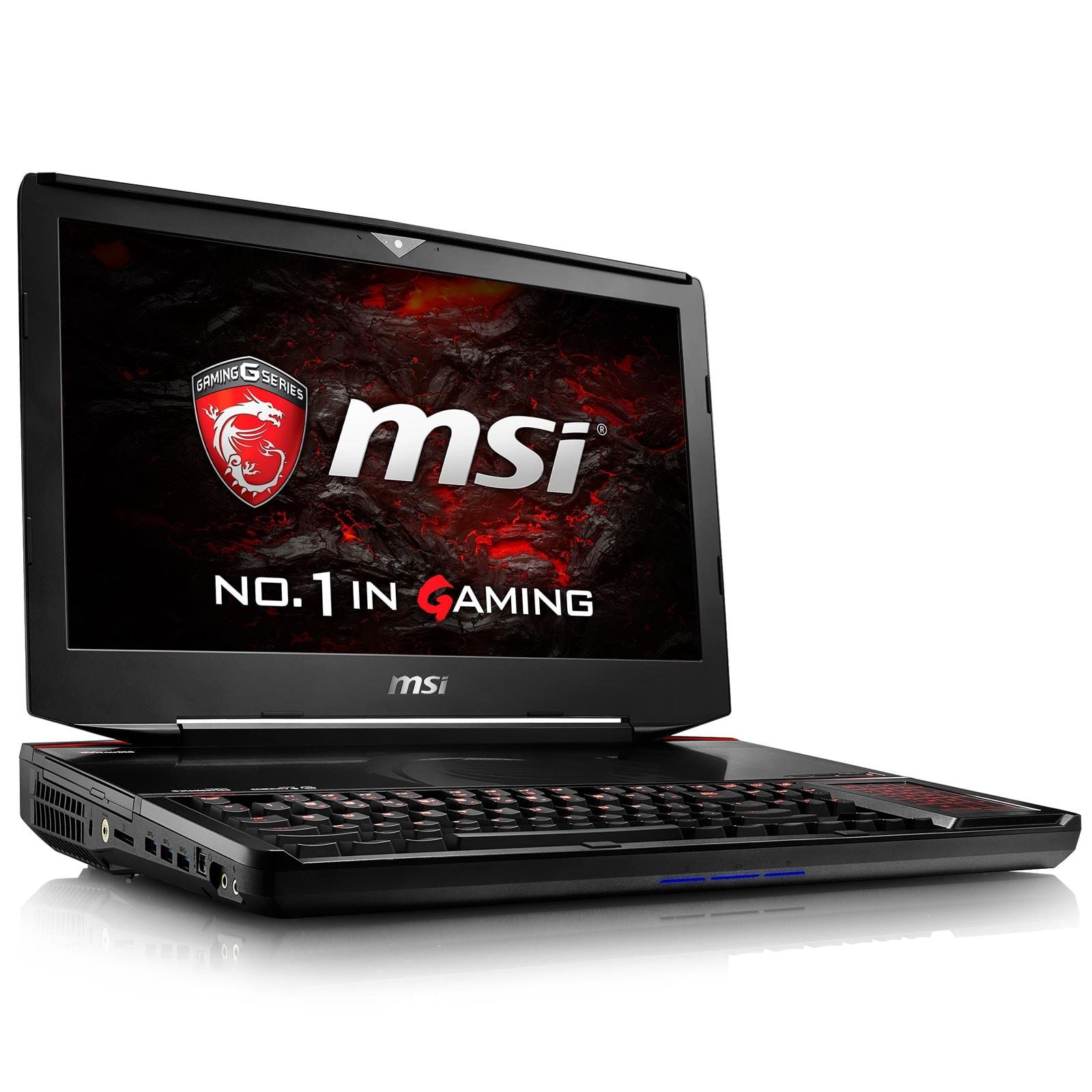 MSI GT83VR 6RF (Titan SLI)-037FR  (9S7-181512-037) - Achat / Vente PC portable sur Cybertek.fr - 0