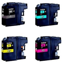 Brother Consommable Imprimante Pack de 4 Cartouches LC121 (BK/Y/M/C) Cybertek