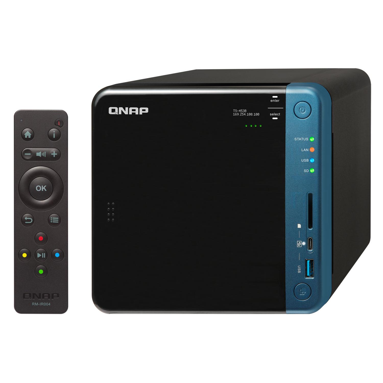 Qnap TS-453B-8G - 4 HDD - Serveur NAS Qnap - Cybertek.fr - 3