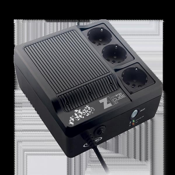 Z1 - Zenergy Cube EX 400VA Haute Frequence SCHUKO - Onduleur Infosec - 1