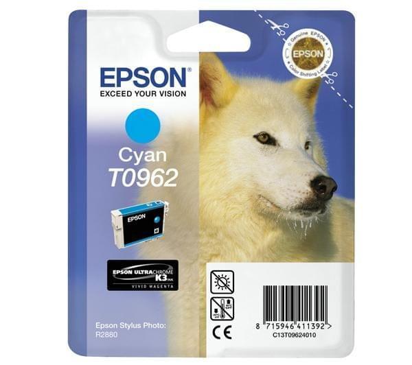 Epson Cartouche d'encre Cyan T0962 (C13T09624010) - Achat / Vente Consommable Imprimante sur Cybertek.fr - 0