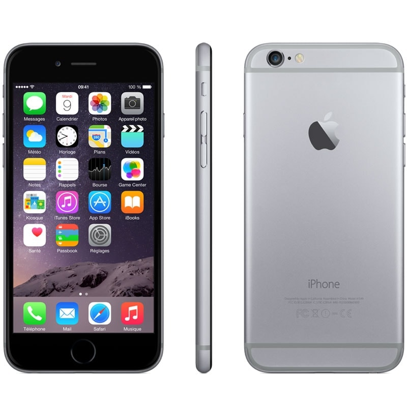Apple iPhone 6 16Go Gris Sidéral (MG472ZD/A) - Achat / Vente Téléphonie sur Cybertek.fr - 2
