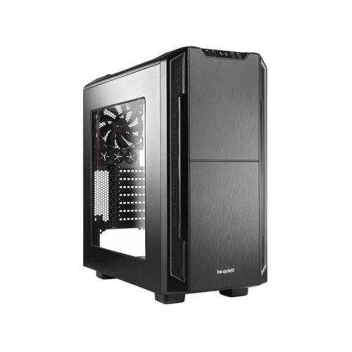 Be Quiet! Silent Base 600 Black Window - Boîtier PC Aluminium - Sans Alim - 0