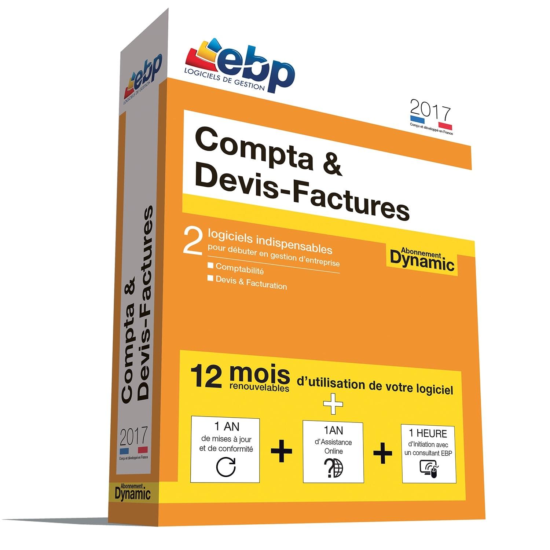EBP Compta & Devis-Factures DYNAMIC 12 mois 2017 + VIP (1108E094FAA) - Achat / Vente Logiciel Application sur Cybertek.fr - 0