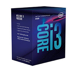 Processeur Intel Core i3 8100 - 3.6GHz/6Mo/LGA1151(2017)/BOX