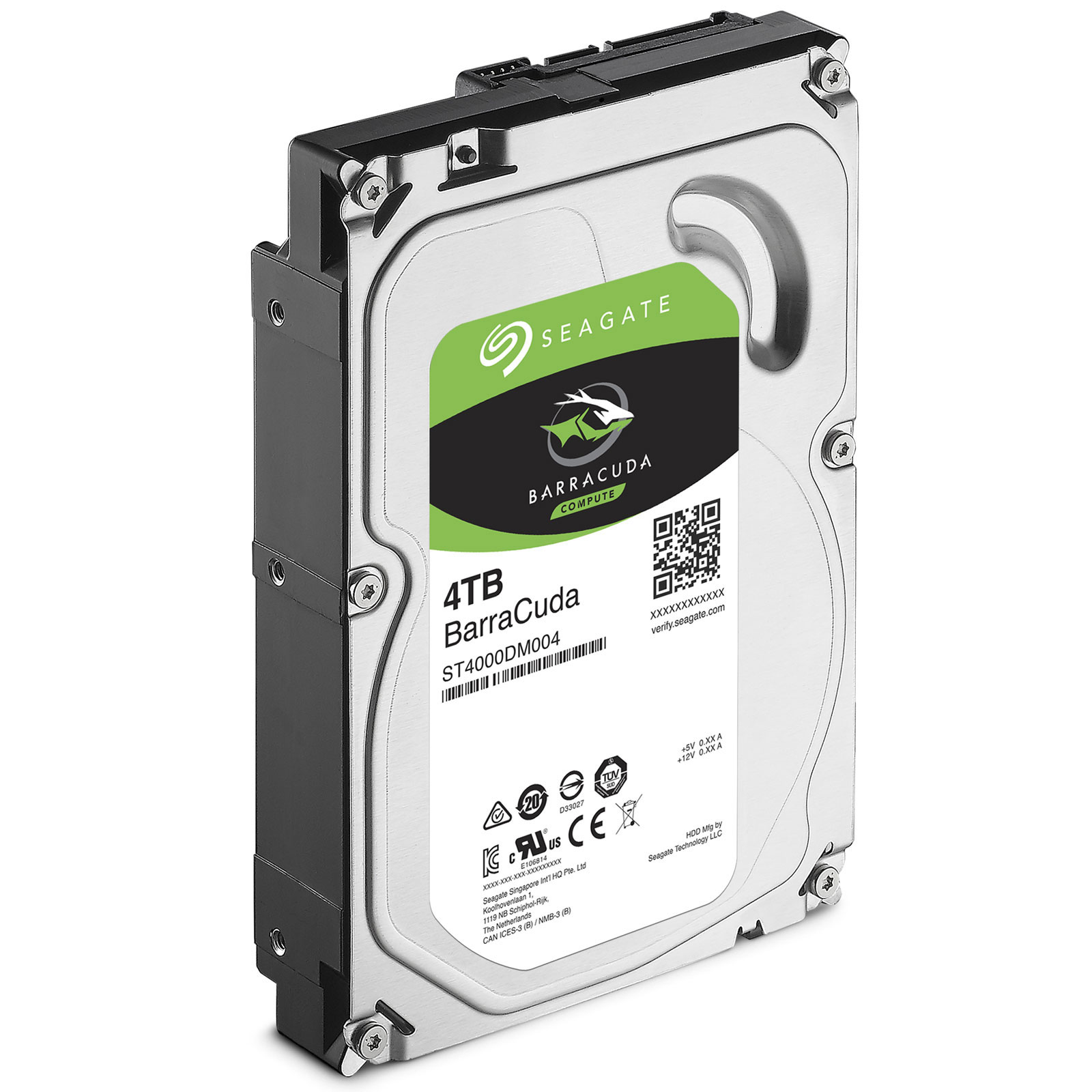 "Seagate 4To 5400tr SATA III 256Mo Barracuda ST4000DM004 - Disque dur interne 3.5"" - 2"