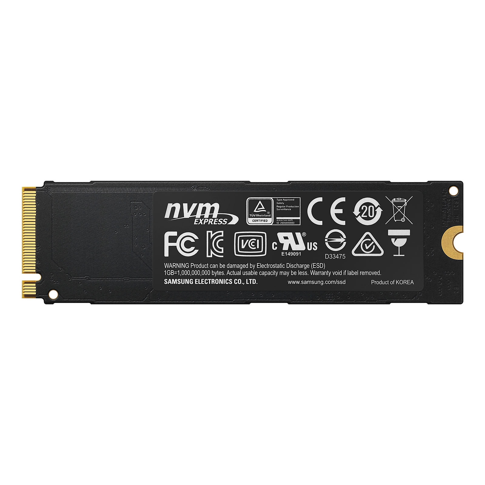 Samsung 960 PRO 2To - Disque SSD Samsung - Cybertek.fr - 1