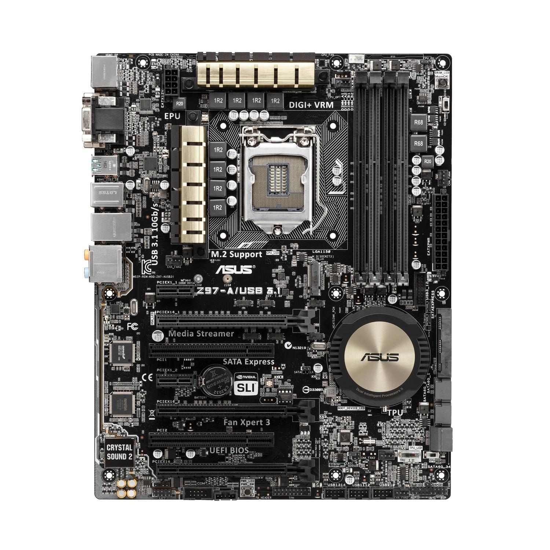 Asus Z97-A/USB3.1 (90MB0L60-M0EAY0 soldé) - Achat / Vente Carte Mère sur Cybertek.fr - 1