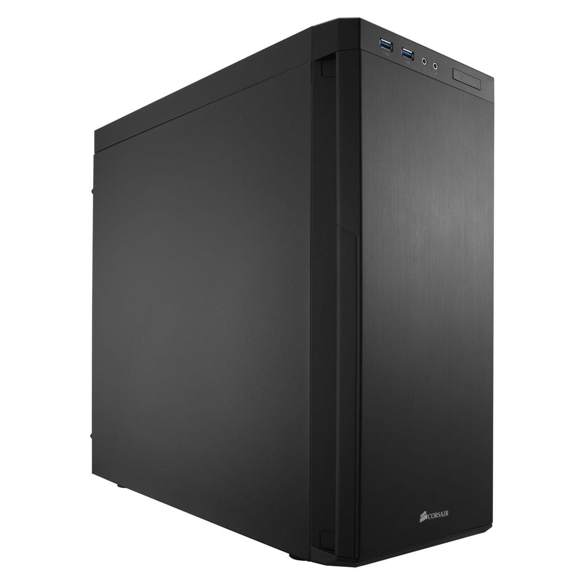 Corsair Carbide 330R Blackout - Boîtier PC Acier - Sans Alim - 0
