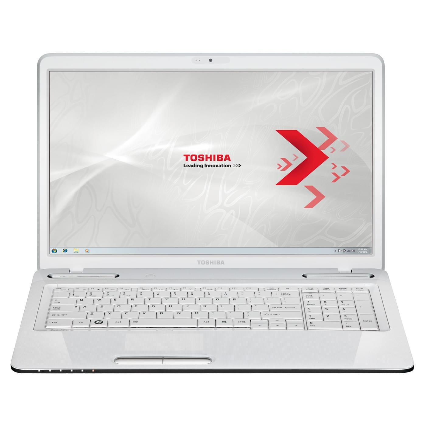 Toshiba L775-15X (PSK3WE-04N006FR) - Achat / Vente PC Portable sur Cybertek.fr - 0