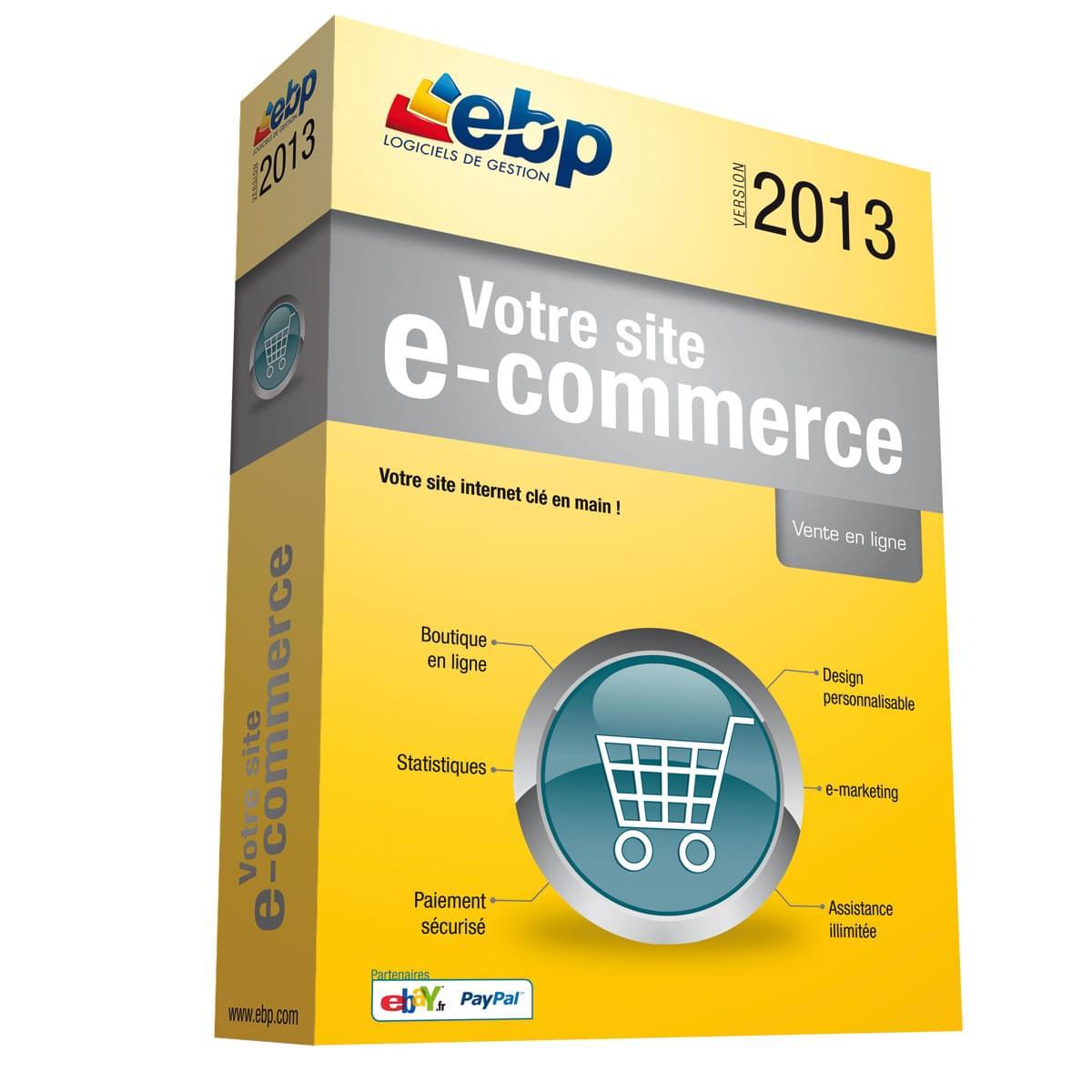EBP Votre Site @-commerce 2013 (1187J012FAA) - Achat / Vente Logiciel application sur Cybertek.fr - 0