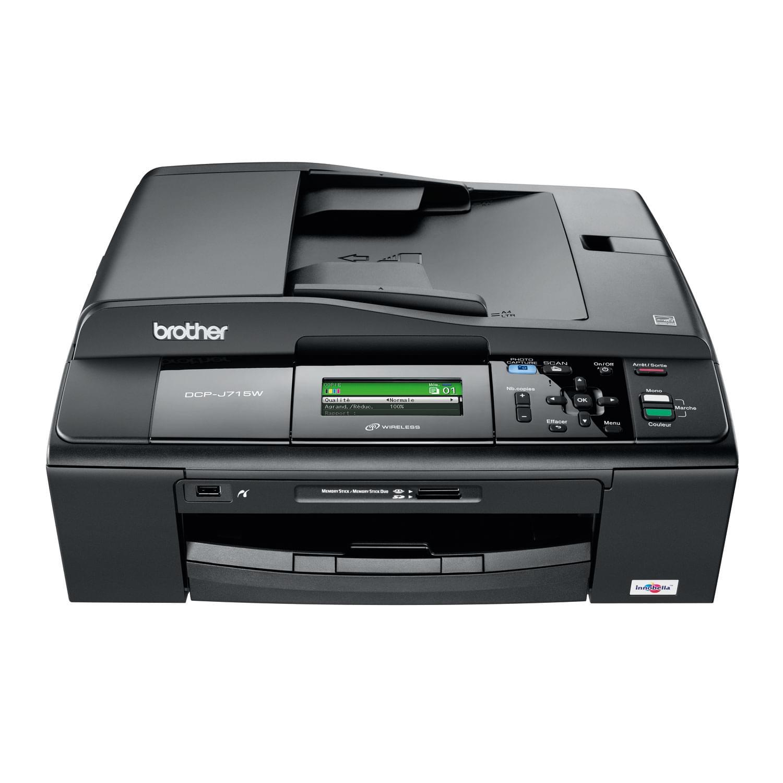 Brother DCP-J715W (DCP-J715W) - Achat / Vente Imprimante multifonction sur Cybertek.fr - 0